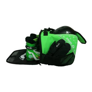 Driver13 Kids Combi Ski Boot Bag green